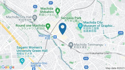 Business Inn SUNHOTEL Map