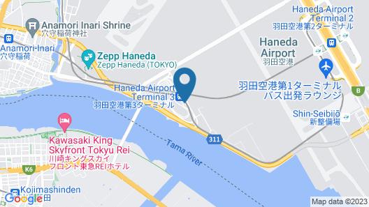 The Royal Park Hotel Tokyo Haneda Map