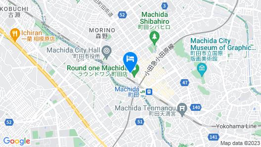 Hotel Resol Machida Map