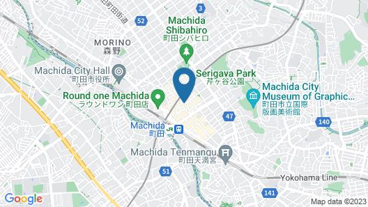 Hotel Shinjukuya Map