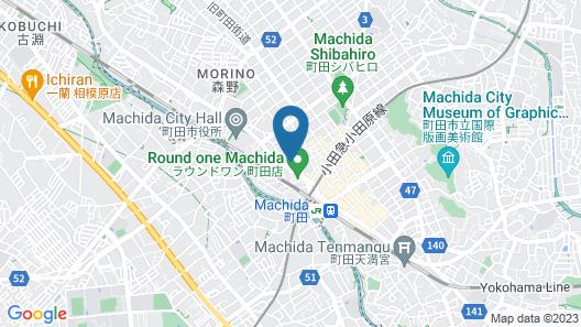 Hotel LiVEMAX Machida-Ekimae Map