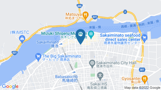 Minato Guest House Map