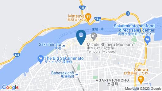 Shanti House Sakaiminato Map