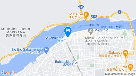 Onyado Nono Sakaiminato Natural Hot Spring Map