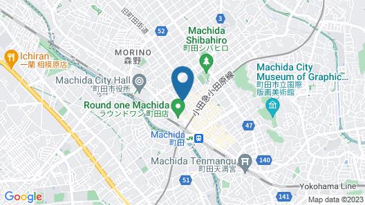 Hotel Machida Villa Map