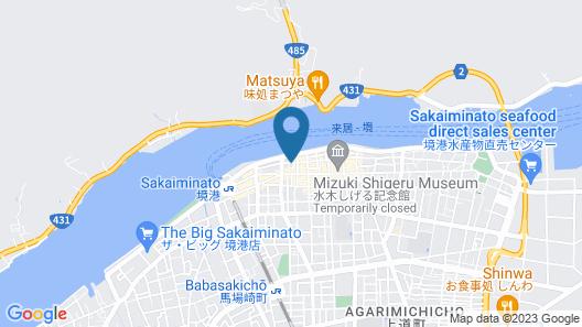 Destiny Inn Sakaiminato Map