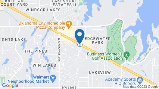 Fairfield Inn & Suites by Marriott Oklahoma City-Warr Acres Map