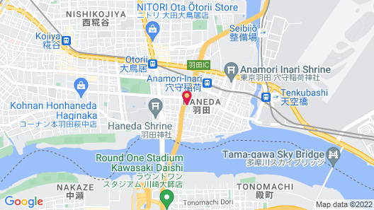 Haneda Mingei Hotel Map