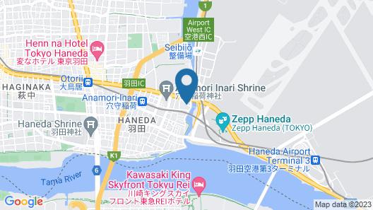 KEIKYU EX INN Haneda Map