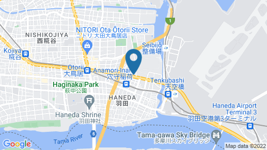 Hotel JAL City Haneda Tokyo Map