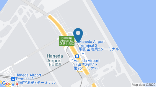 Haneda Excel Hotel Tokyu Map
