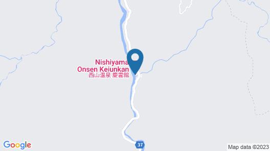 Koshu Nishiyama Hot Spring Keiunkan Map