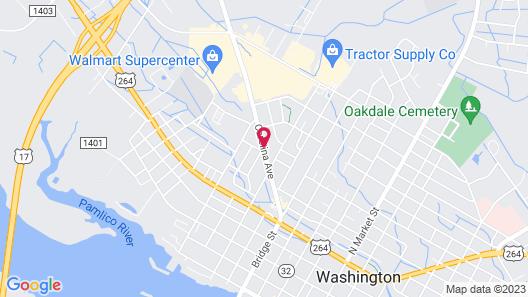Days Inn by Wyndham Washington Map
