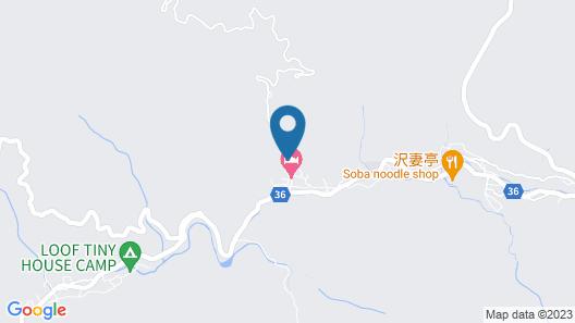 Kominka Yado LOOF Sawanoie Map