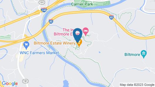 Village Hotel on Biltmore Estate Map