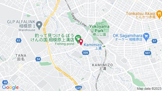 Hotel Wing International Sagamihara Map
