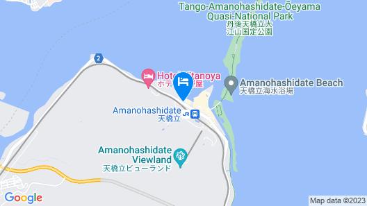 Amanohashidate Hotel Map