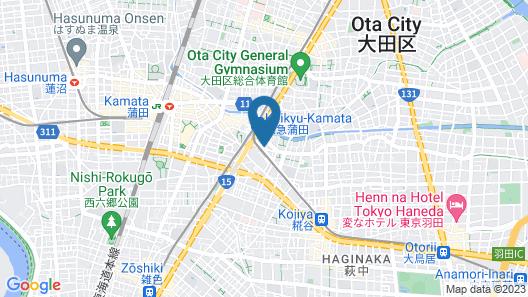 HOTEL ORIENTAL EXPRESS TOKYO KAMATA  Map