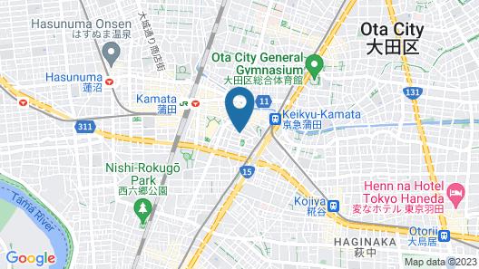 KARIO KAMATA Map
