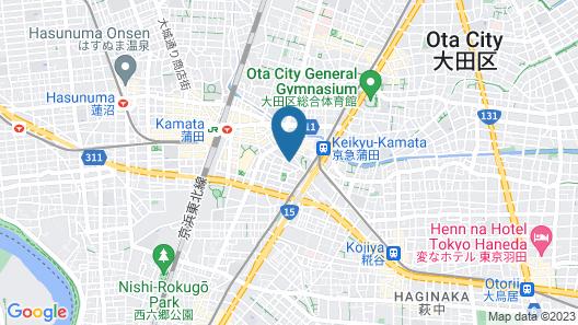 Chisun Inn Kamata Map