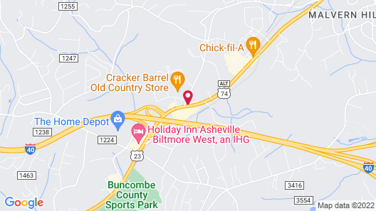 Ramada by Wyndham Asheville / Biltmore West Map