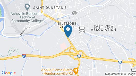Baymont by Wyndham Asheville/Biltmore Village Map