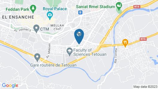 Villa Dyr Map