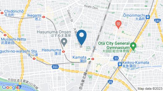 Minn Kamata Map