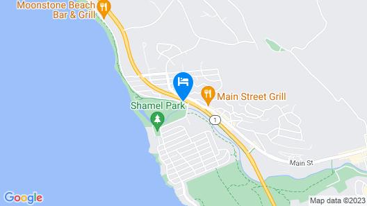 El Colibri Hotel & Spa Map