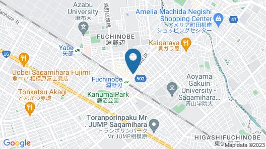 HOTEL LiVEMAX Sagamihara Map