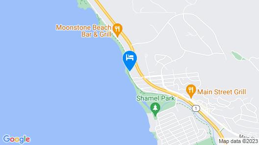 Cambria Beach Lodge Map