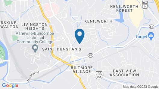 The Residences at Biltmore Map