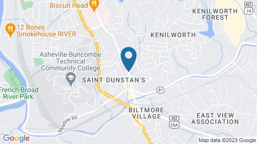 Residence Inn by Marriott Asheville Biltmore Map