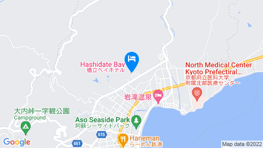 Hashidate Bay Hotel Map
