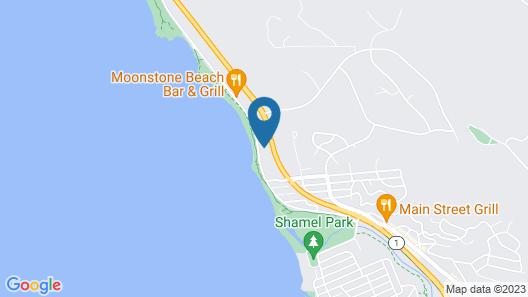 Sand Pebbles Inn Map