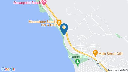 Pelican Inn & Suites Map