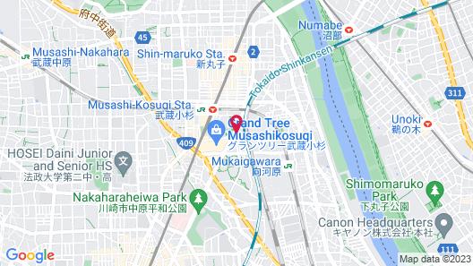 Richmond Hotel Premier Musashikosugi Map