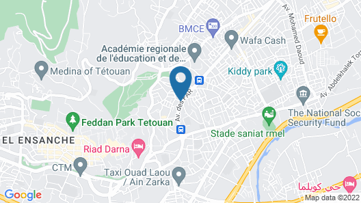 résidence niama Map