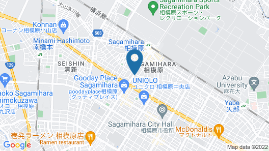 Hotel LiVEMAX Sagamihara-ekimae Map
