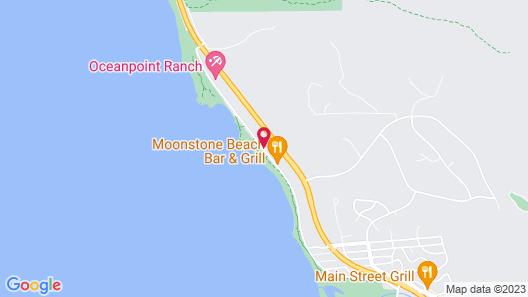 Sea Otter Inn Map