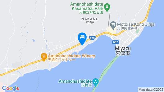 The Gran Resort Amanohashidate Map