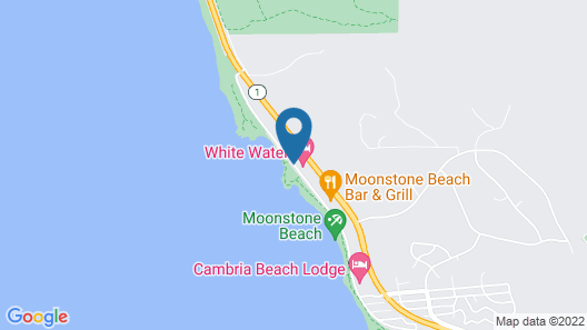 Fireside Inn on Moonstone Beach Map