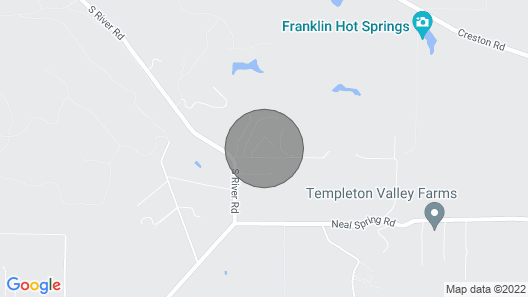 Gracious Hacienda in Paso Robles Wine Country Map