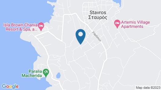 Skamagkas G. Apartments Map