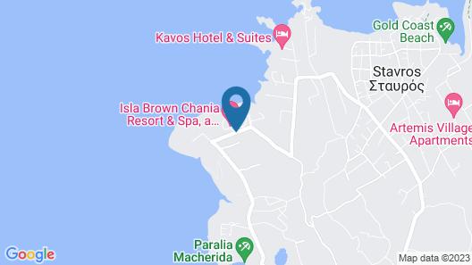 Mr & Mrs White Crete Lounge Resort & Spa - All Inclusive Map