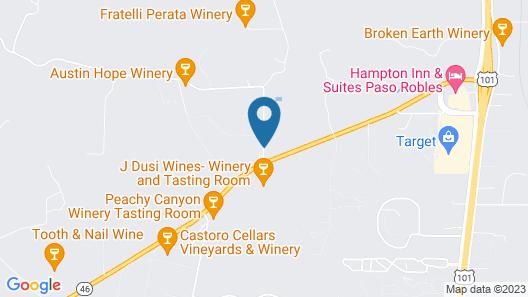SummerWood Winery & Inn Map