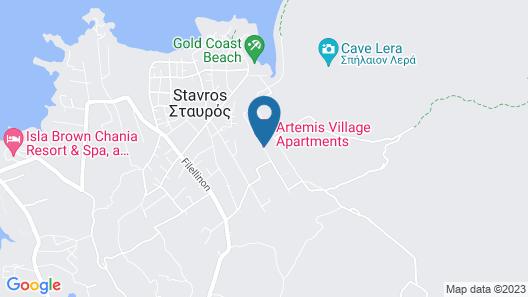 Artemis Village Apartments & Studios Map