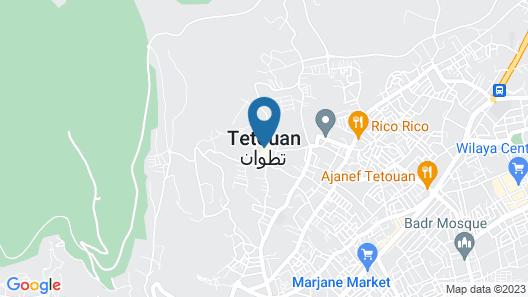 Darna Hostel Map