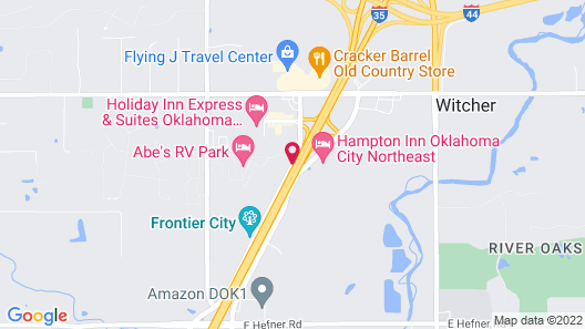 Days Inn by Wyndham Oklahoma City Map
