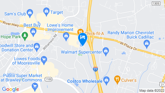 Baymont by Wyndham Mooresville Map